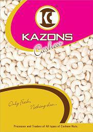 Kazons Regular Cashew Nut (Kaju) Regular 1000 Gm Pack Of 2 - 641884194069