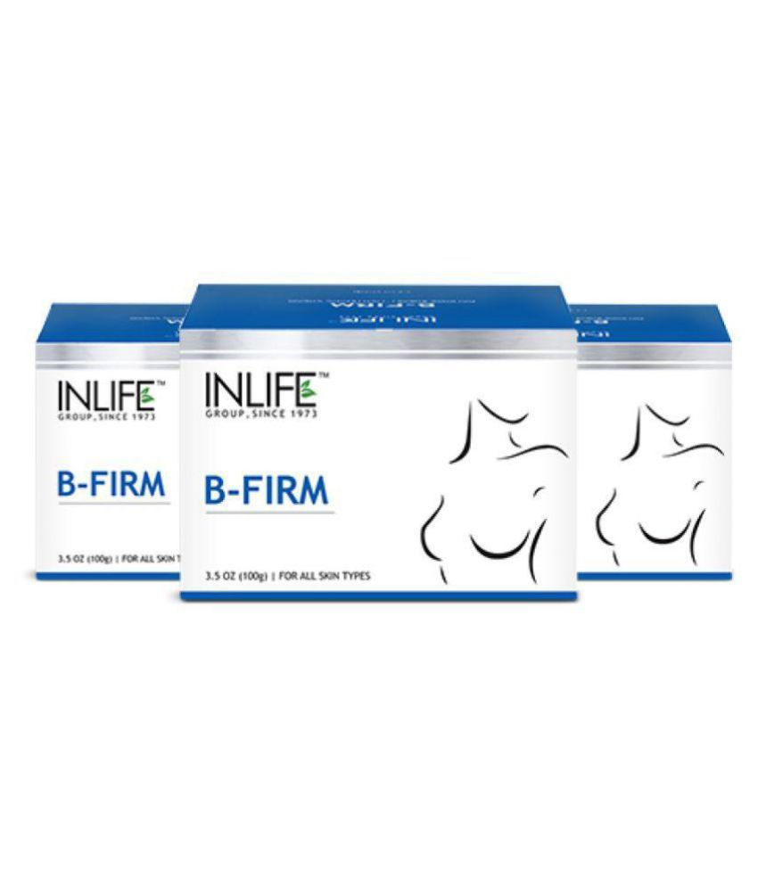 Inlife Breast Firming Massage Cream Shaping & Firming Cream 300 gm Pack of 3