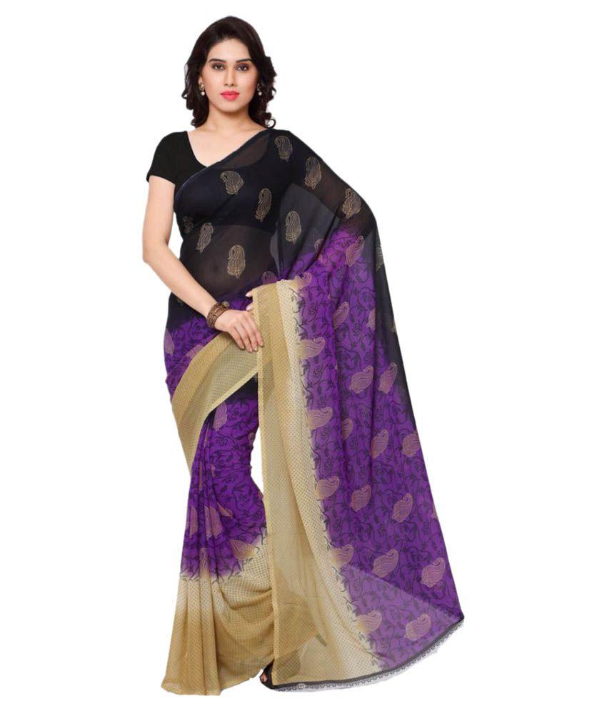 Rajnandini Multicoloured Georgette Saree