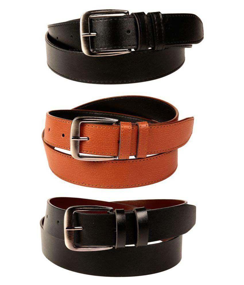 Fedrigo Multi Faux Leather Casual Belts