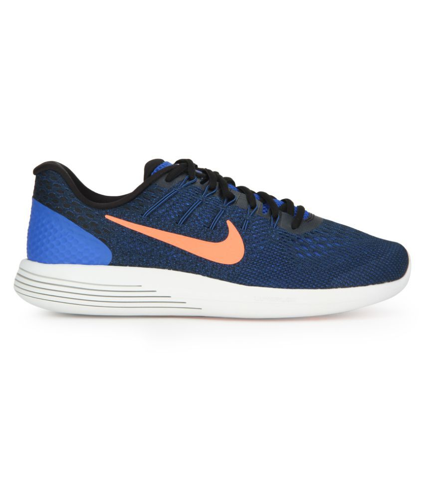 timeless design 4a42e 092ff Nike LUNARGLIDE 8 Blue Running Shoes