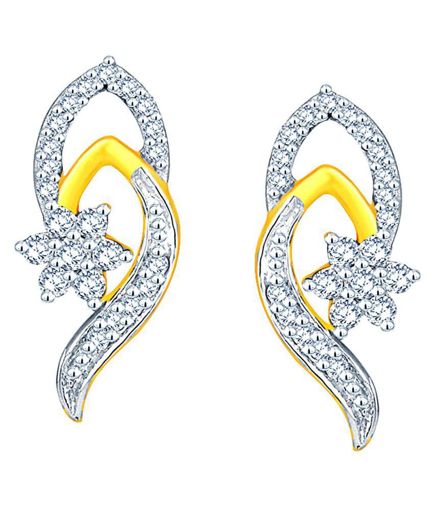 Nakshatra 95.5 Lumineux Diamond Drop Earrings