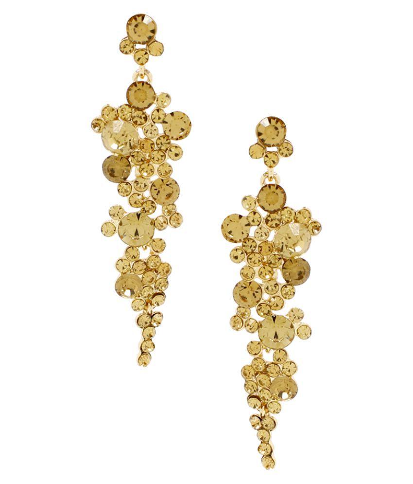 Bellofox Yellow Hanging Earrings