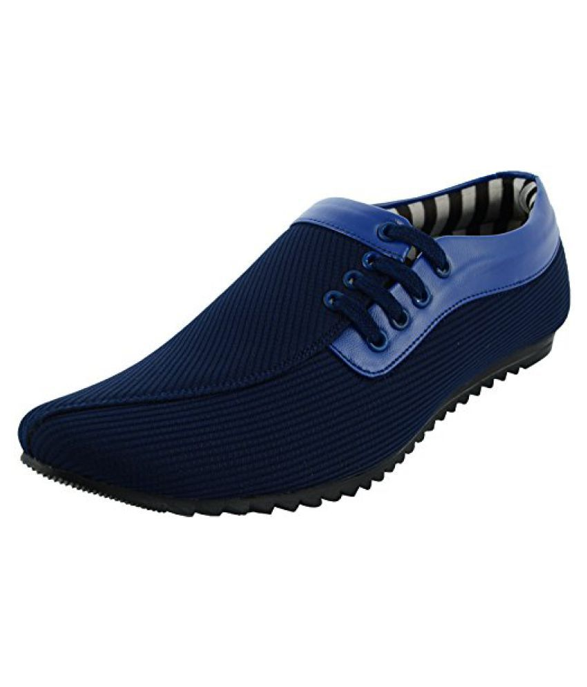 Essence Lifestyle Blue Casual Shoes