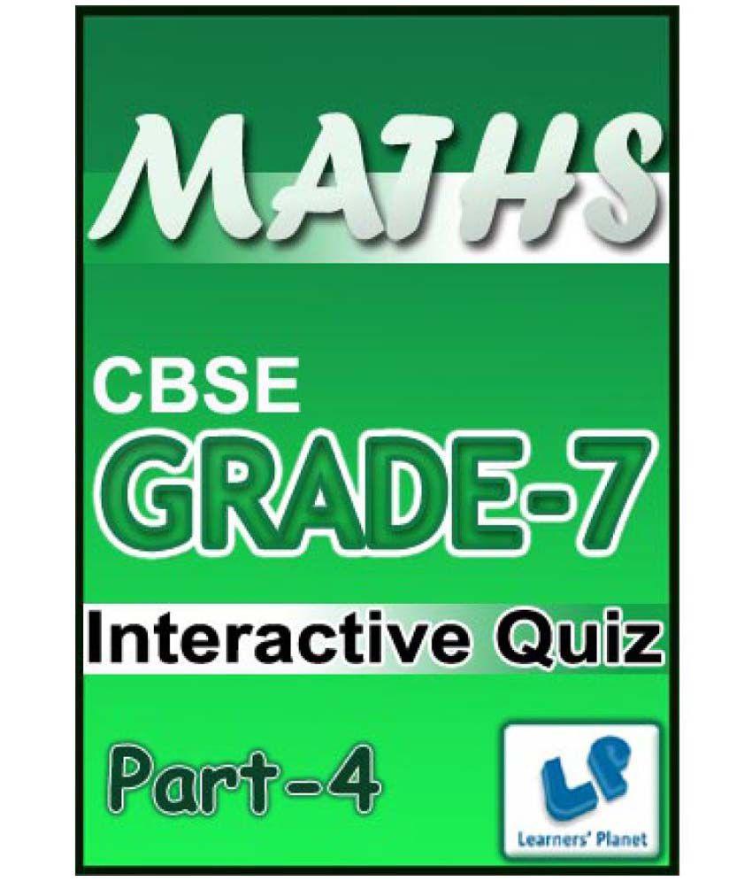 Grade-7-CBSE-Maths-Part-4 (Interactive Quiz) Downloadable Content ...
