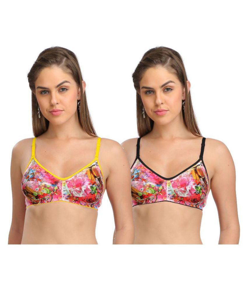 d796f56d94 Buy Selfcare Cotton Lycra T-Shirt Bra Online at Best Prices in India -  Snapdeal