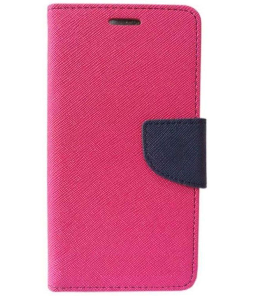 newest 5729d ca3f6 Gionee S6s Flip Cover by Mobilekabazaar - Pink