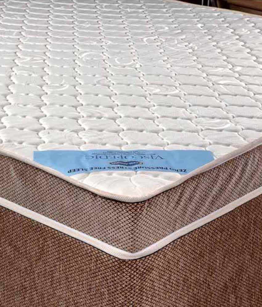 englander viscopedic deluxe 17 78 cm 7 memory foam mattress buy