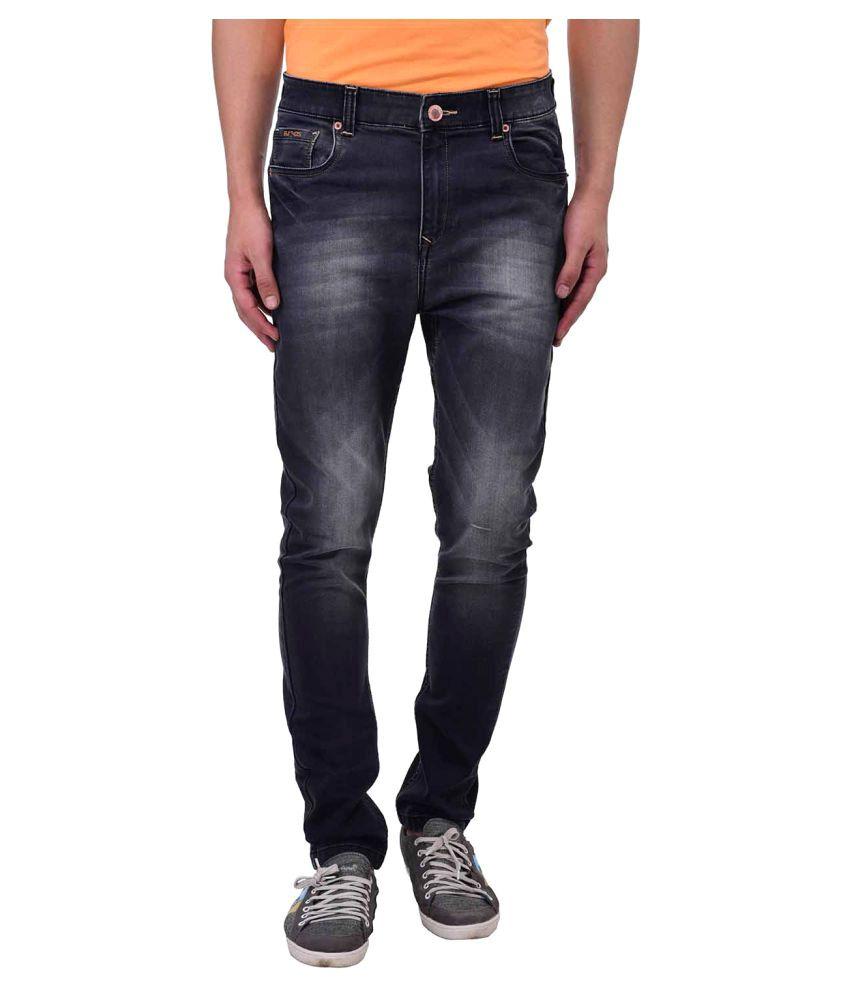 Blue Buddha Black Slim Jeans