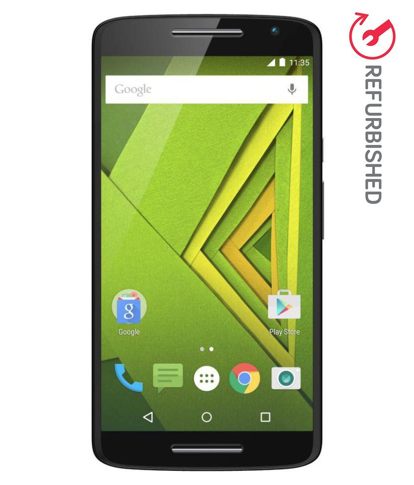 REFURBISHED Motorola Moto X Play 16GB Black