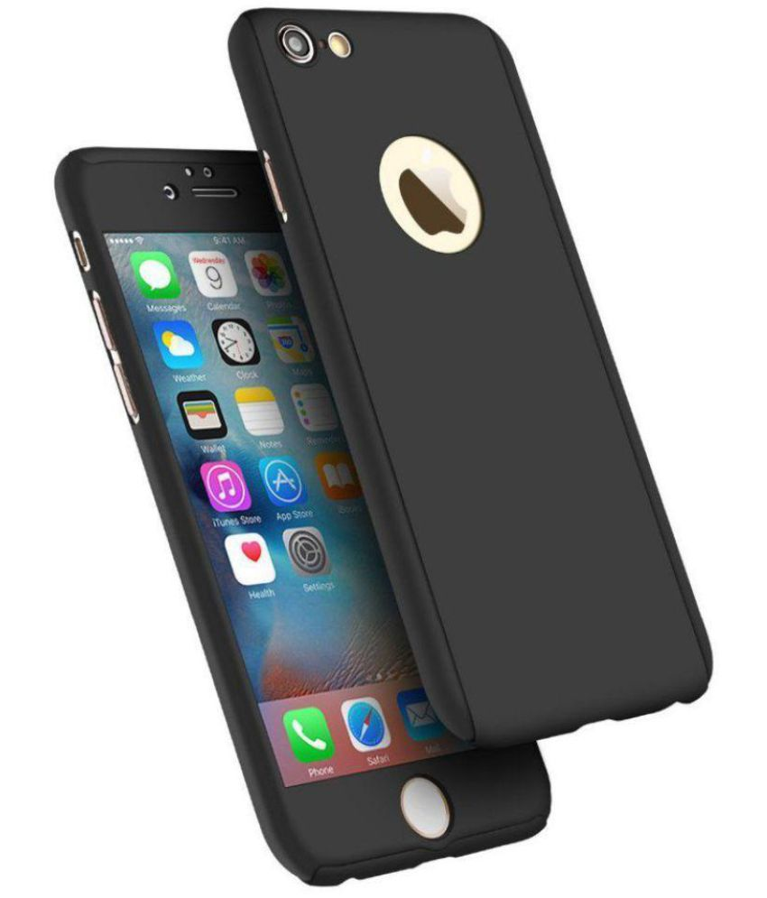 aba20e1d92beee Apple iPhone 6S Cover by Tecozo - Black - Plain Back Covers Online at Low  Prices | Snapdeal India