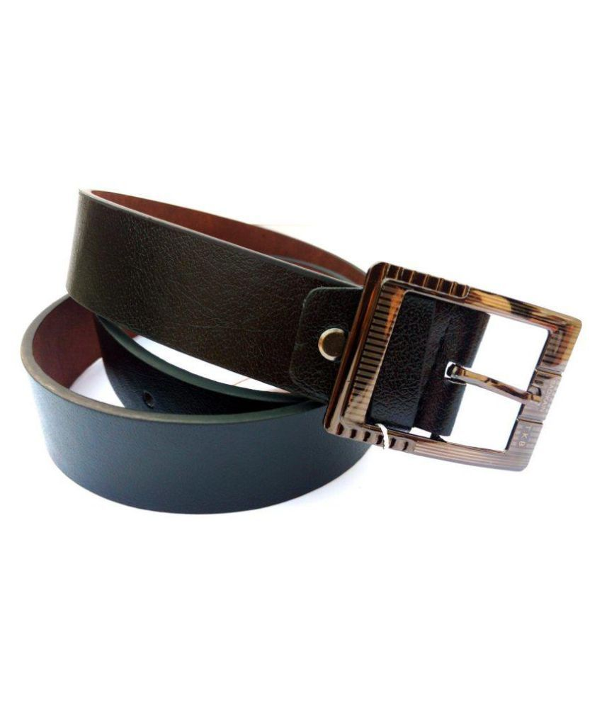 Nivi Enterprises Black Faux Leather Party Belts