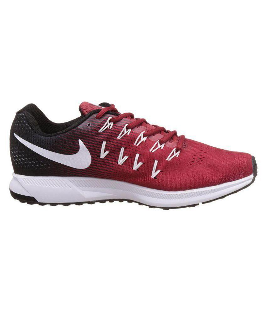 3d6b05f046029 Nike Pegasus 33 Red Running Shoes - Buy Nike Pegasus 33 Red Running ...