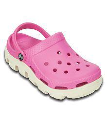 Crocs Pink Clogs For Kids