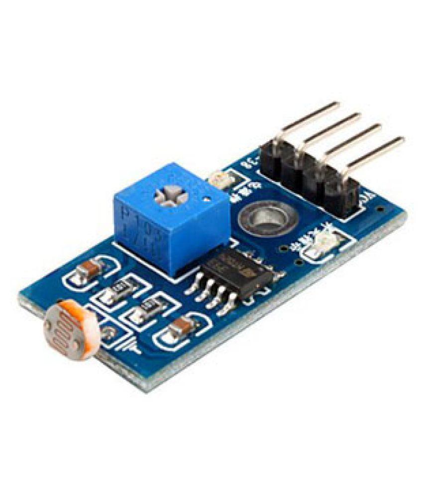 Robodo Photo Resistor Ldr Light Sensor Module Lm393 Based Buy Circuit