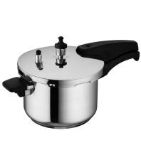 Wonderchef Secura 4  5 Ltrs Stainless Steel OuterLid Pressure Cooker
