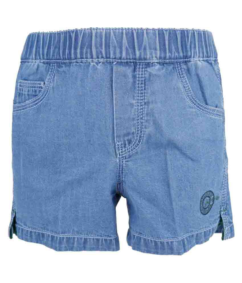 Just-In Sky Blue Shorts