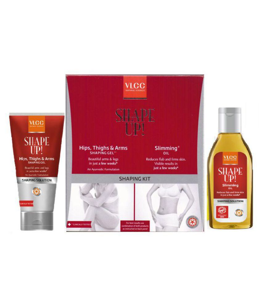 VLCC VLCC SHAPING KIT Hips,Thighs,Arms &Slimming Oil ...