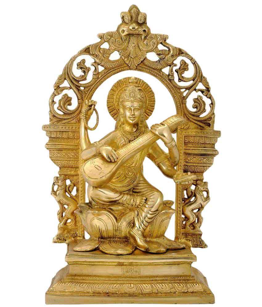 Redbag Saraswati Brass Idol