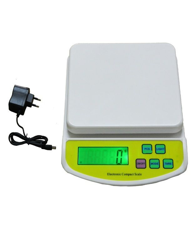 Digital Kitchen 10 kg Weighing Scale With Adapter