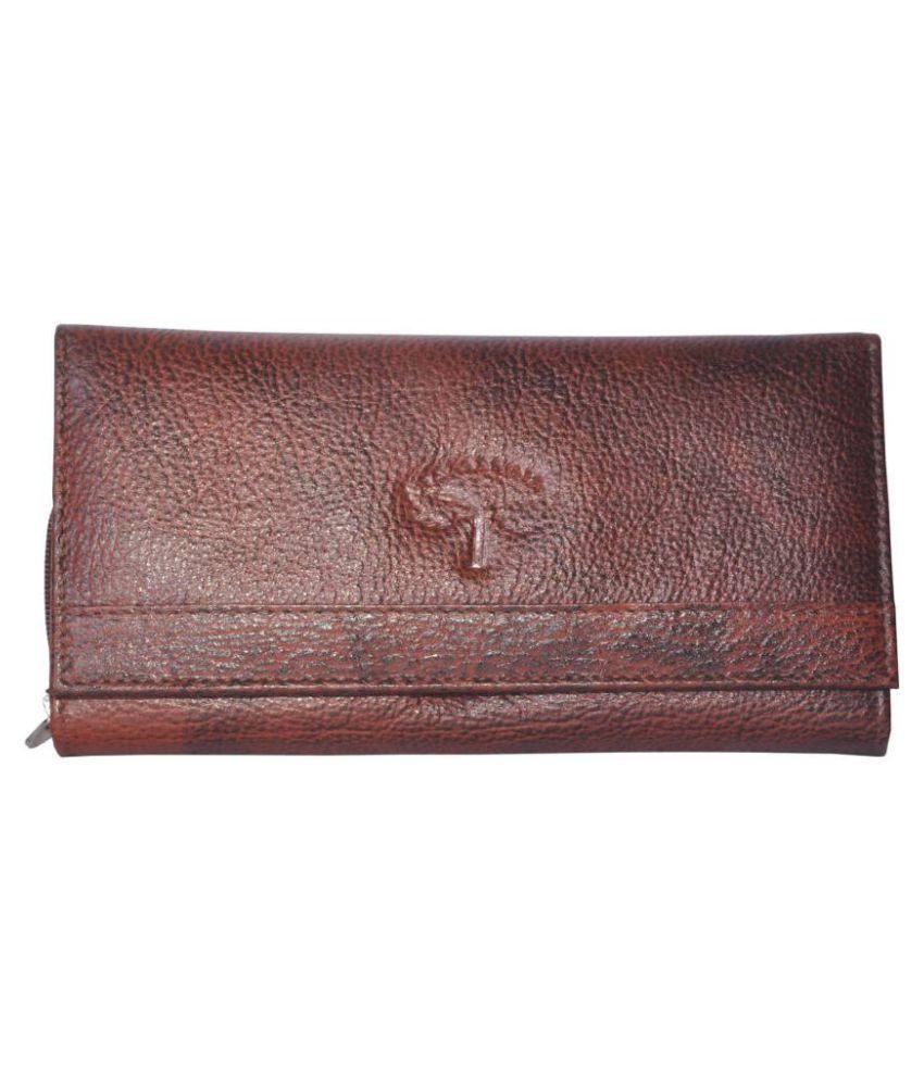 Tamanna Brown Wallet