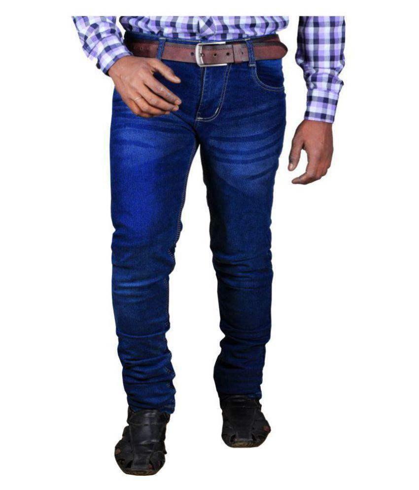 L,Zard Blue Slim Jeans
