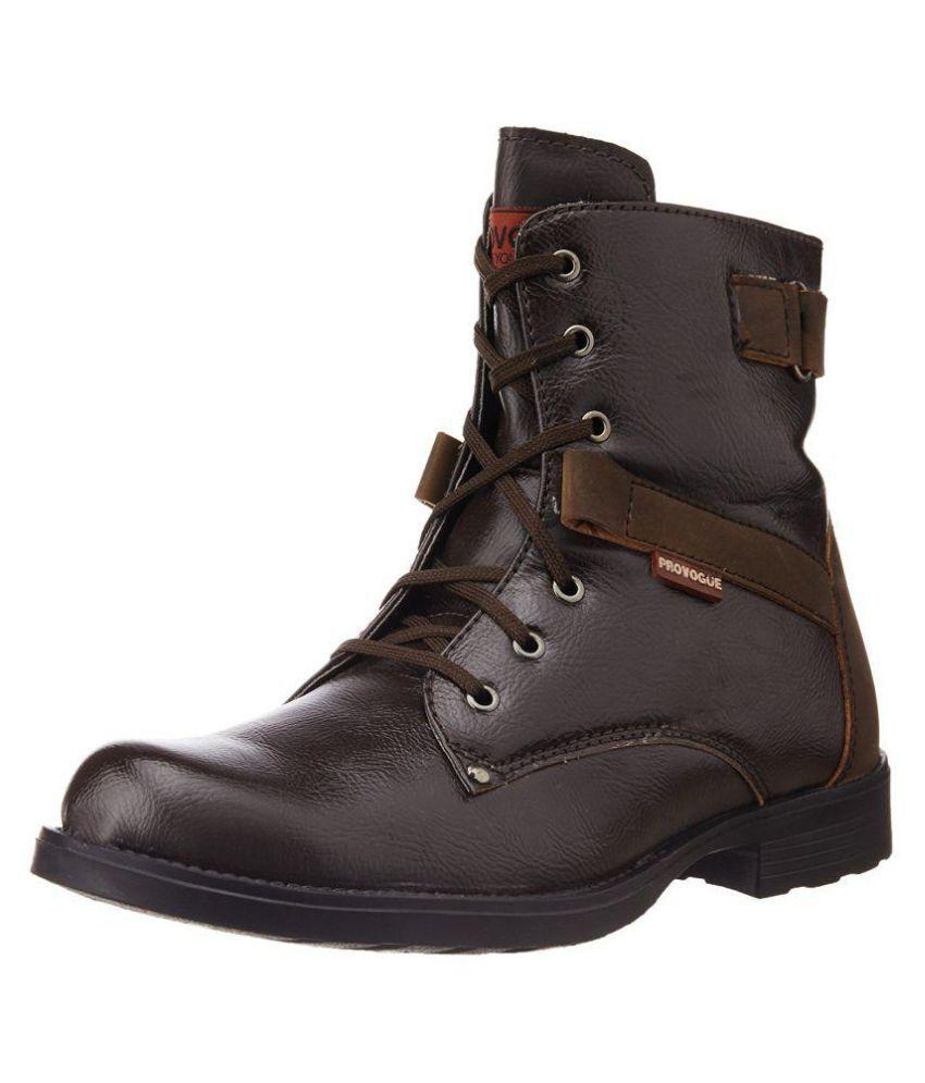 Provogue Brown Hiking & Trekking Boot