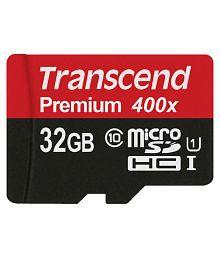 Transcend 32 GB Class 10 Memory Card - 630412471578