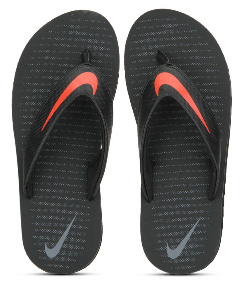 6baa3900381b5a Nike Chroma Thong 5 Black Thong Flip Flop Price in India- Buy Nike Chroma  Thong 5 Black Thong Flip Flop Online at Snapdeal