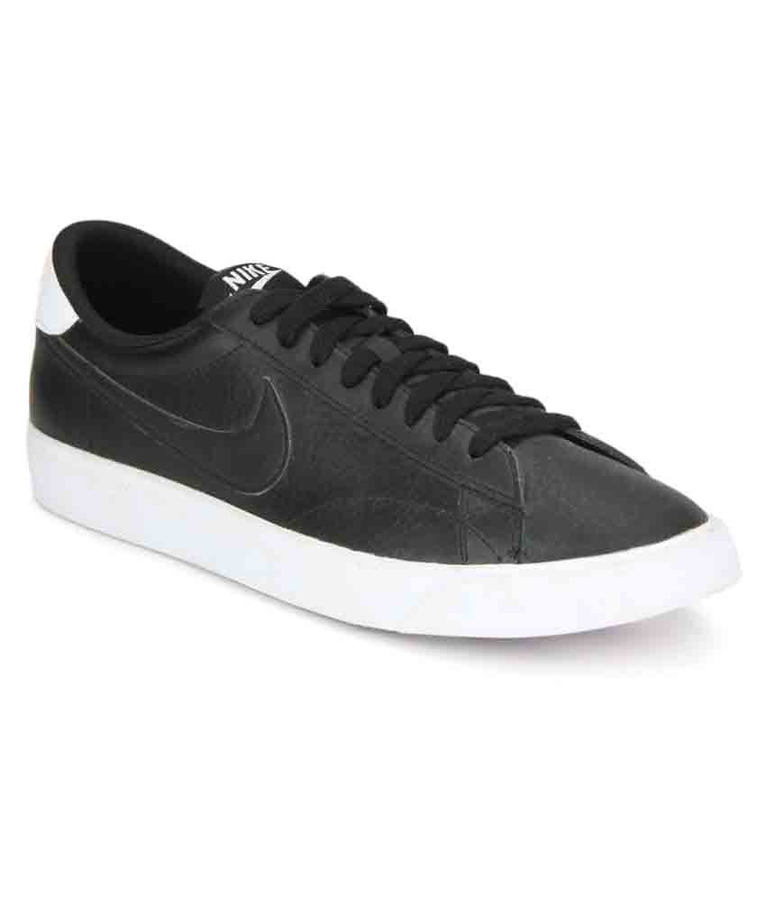 quality design 6da0e 90af9 Nike Tennis Classic AC Black Casual Shoes - Buy Nike Tennis Classic AC  Black Casual Shoes Online at Best Prices in India on Snapdeal