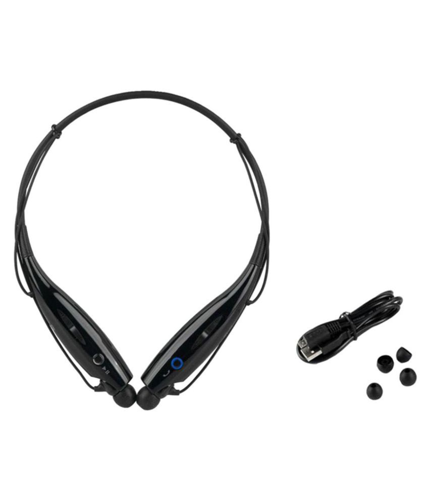 Mobimint W960 AMOLED 3D Wireless Bluetooth Headphone Black