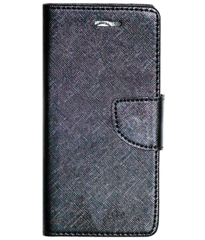 new style 109bc a741e Lenovo K6 Power Flip Cover by Gizmofreaks - Black