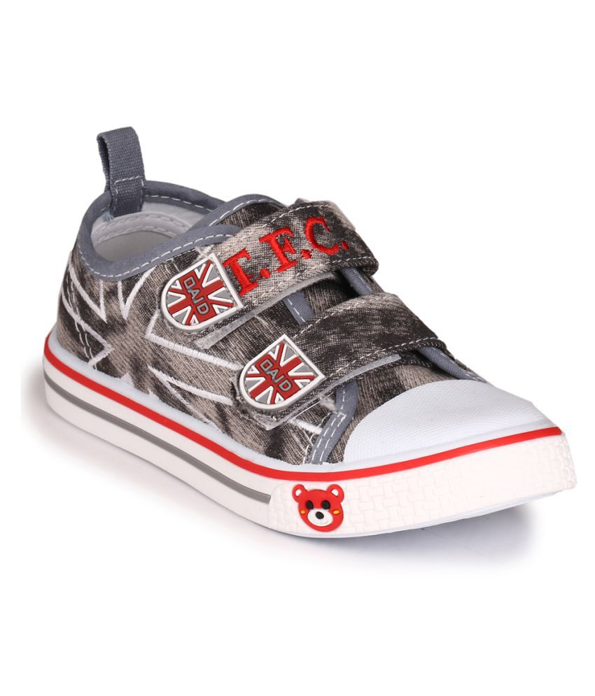 Trilokani Grey Casual Shoes For Kids explore sale online isJeF