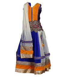 Crazeis Multicolour Lehenga Choli Set