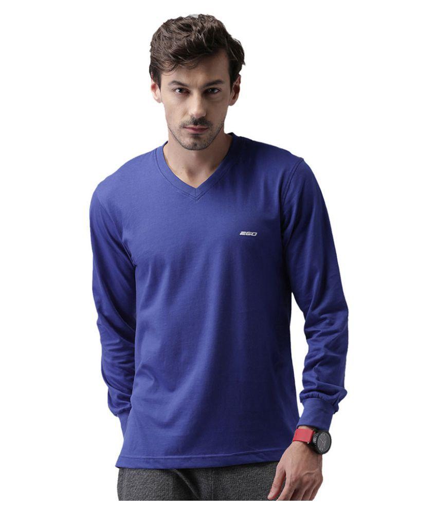2go Blue Cotton T-Shirt Single Pack