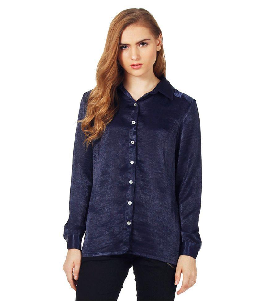 FabAlley Satin Shirt