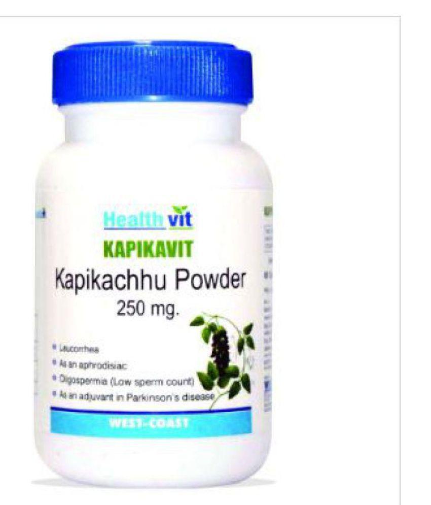 HealthVit KAPIKAVIT Kapikachu Powder 250 mg Capsule 60 no.s Pack of 2
