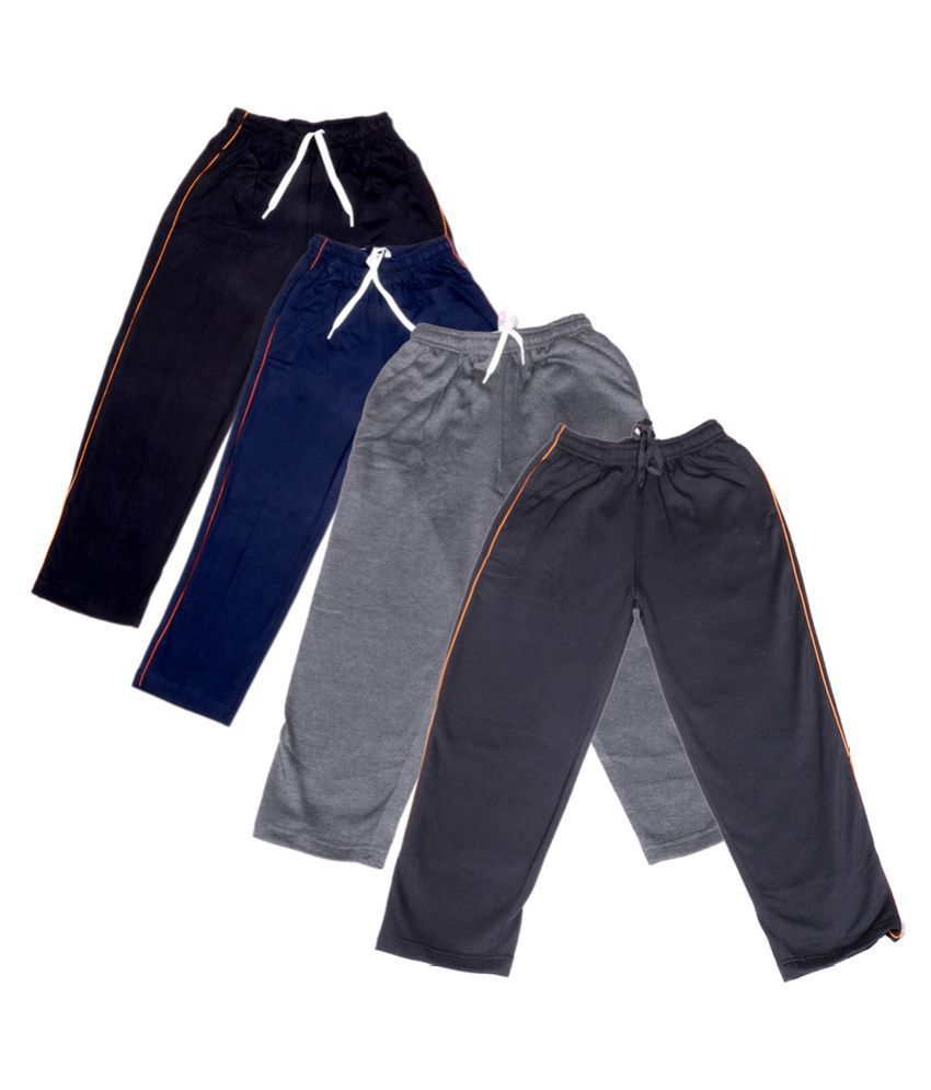 IndiWeaves Girls Premium 2 Cotton and 2 Warm Wollen Lower(Pack of 4)