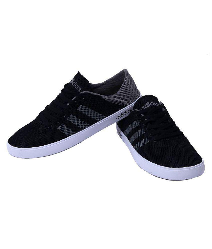 Adidas Sneakers Black Casual Shoes - Buy Adidas Sneakers ...