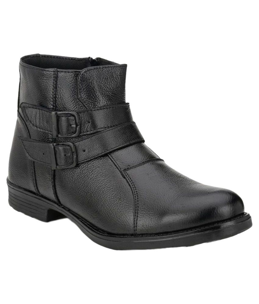Mactree Black Casual Boot