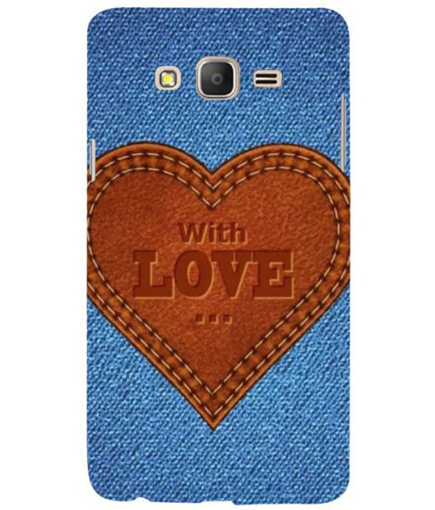 Samsung Galaxy On7 3D Back Covers By Fuson