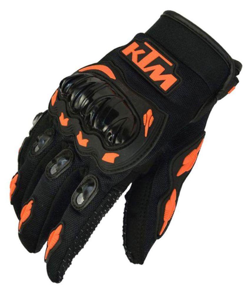 Motorcycle gloves online india - Ktm Hand Gloves