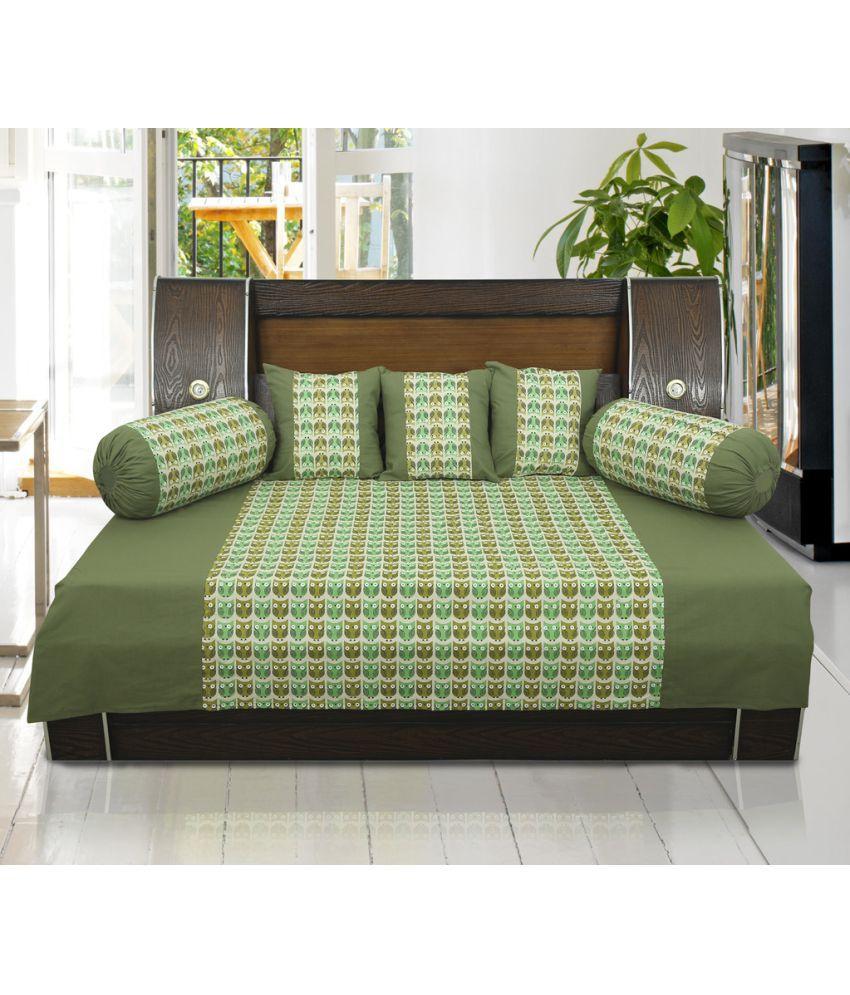 Dekor World Cotton Green Set Contents