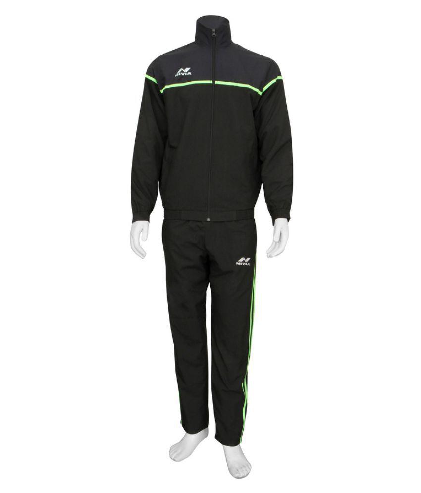 Nivia Black Track Suit