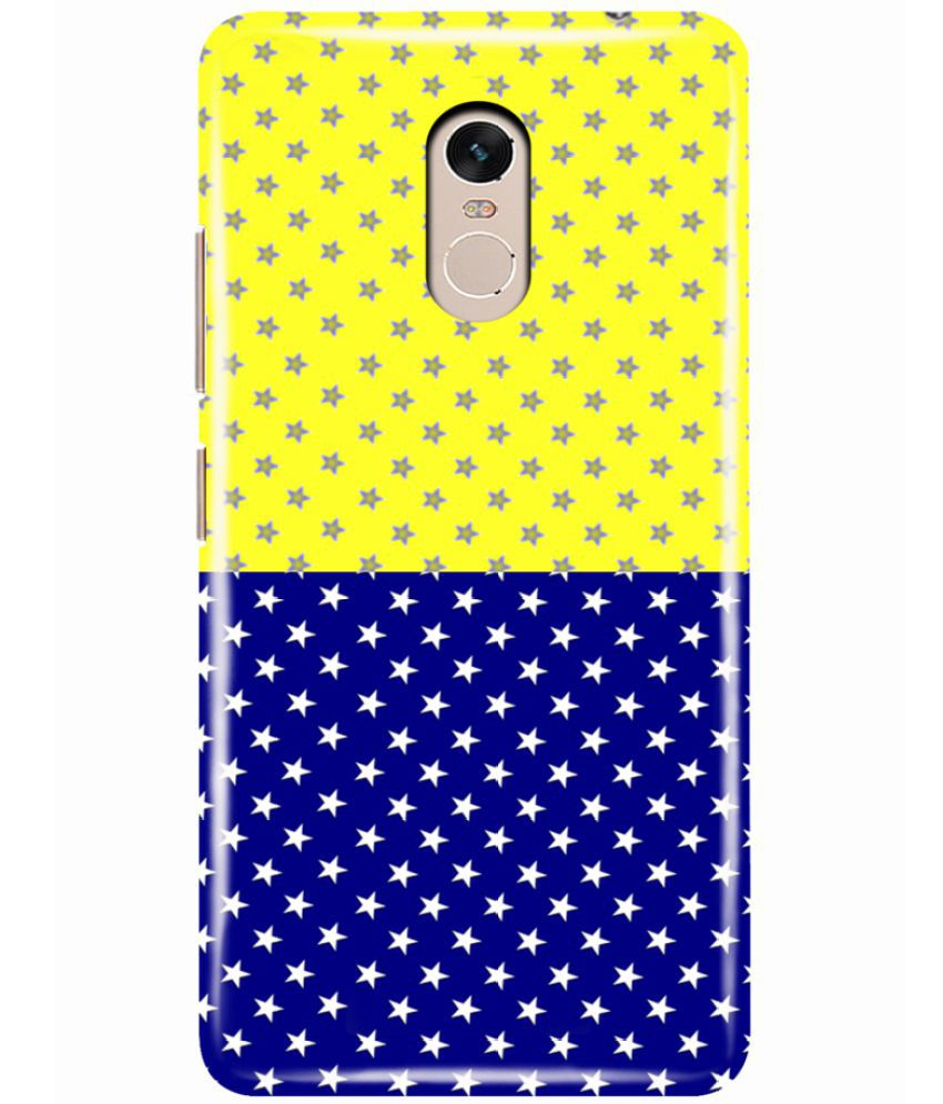 Xiaomi Redmi Note 4 Printed Cover By Hupshy