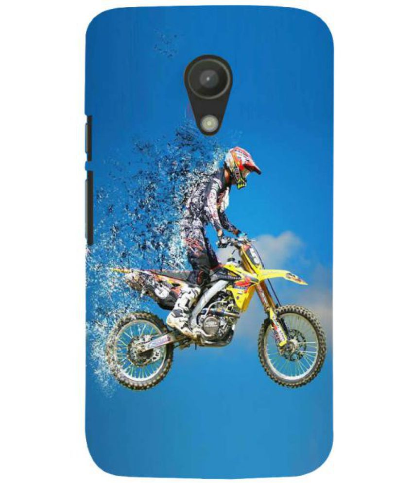 Moto G2 3D Back Covers By Fuson