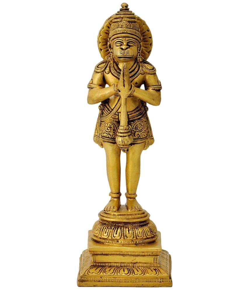 Redbag Hanuman Brass Idol