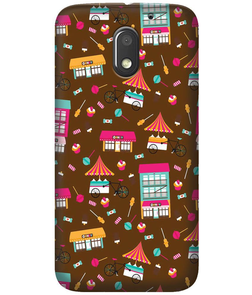 Moto E3 Power Printed Cover By LOL