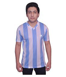 Dyed Colours Multi Polyester T-Shirt Single Pack
