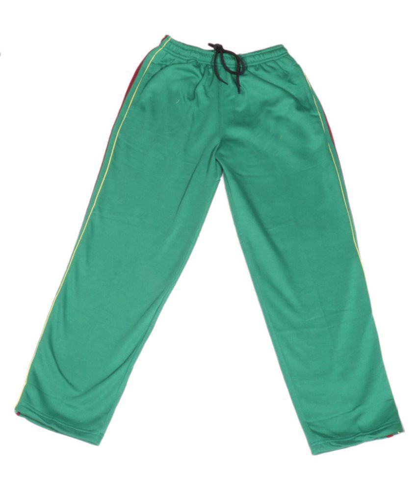 IndiWeaves Green Premium Cotton Warm Full Length Lower/Track Pant For Girls